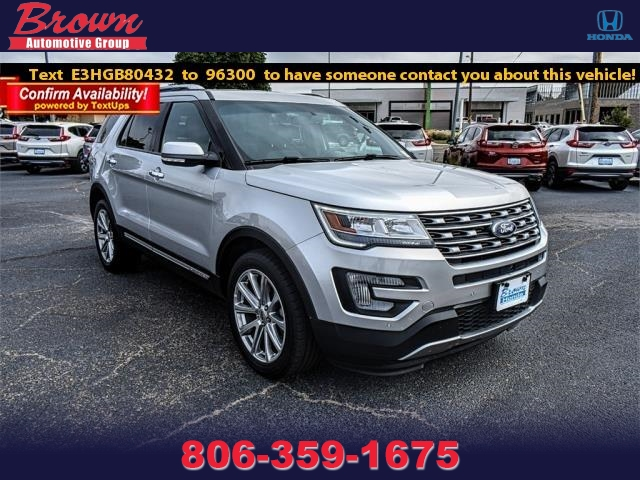 Pre Owned 2017 Ford Explorer Limited 4wd
