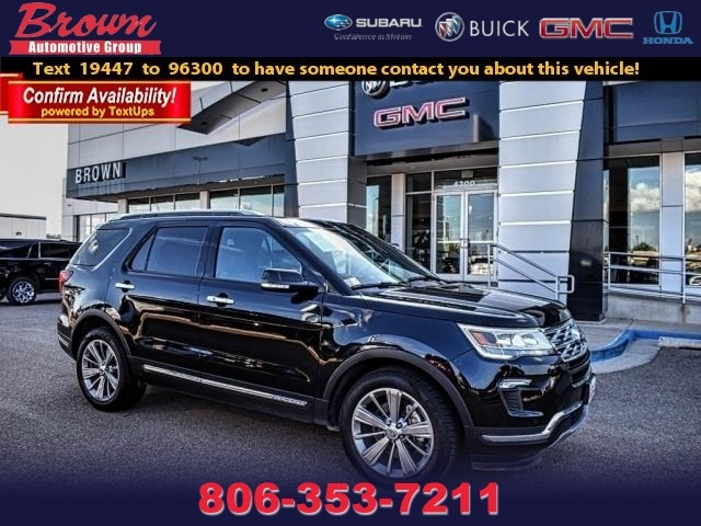 Pre-Owned 2018 Ford Explorer Limited