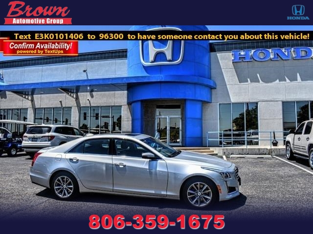Pre-Owned 2019 Cadillac CTS Sedan 4DR SDN 3.6L LUXURY RWD