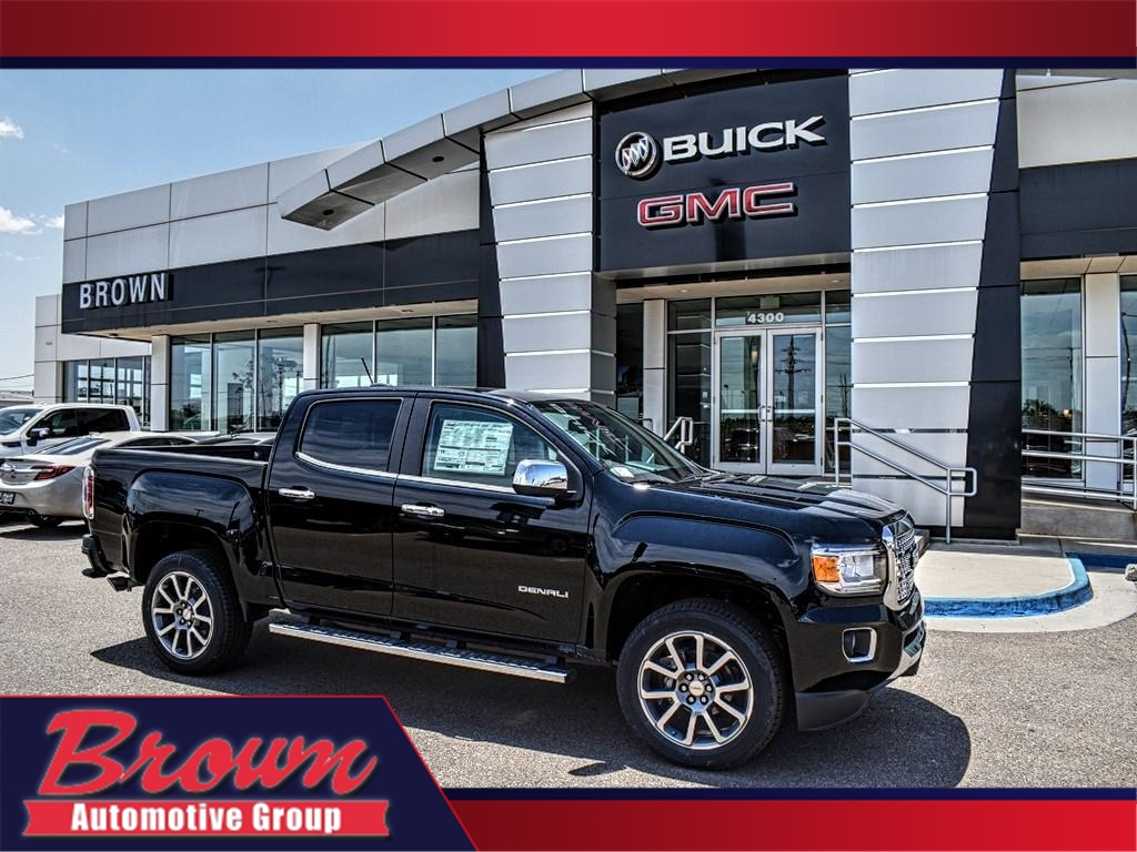 New 2019 GMC Canyon 4WD CREW CAB 128.3 DENALI