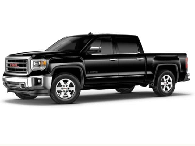 Pre-Owned 2015 GMC Sierra 1500 4WD Double Cab 143.5 SLT