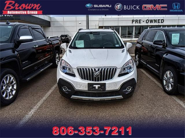 Pre Owned 2016 Buick Encore Fwd 4dr Sport Touring Sport Utility In