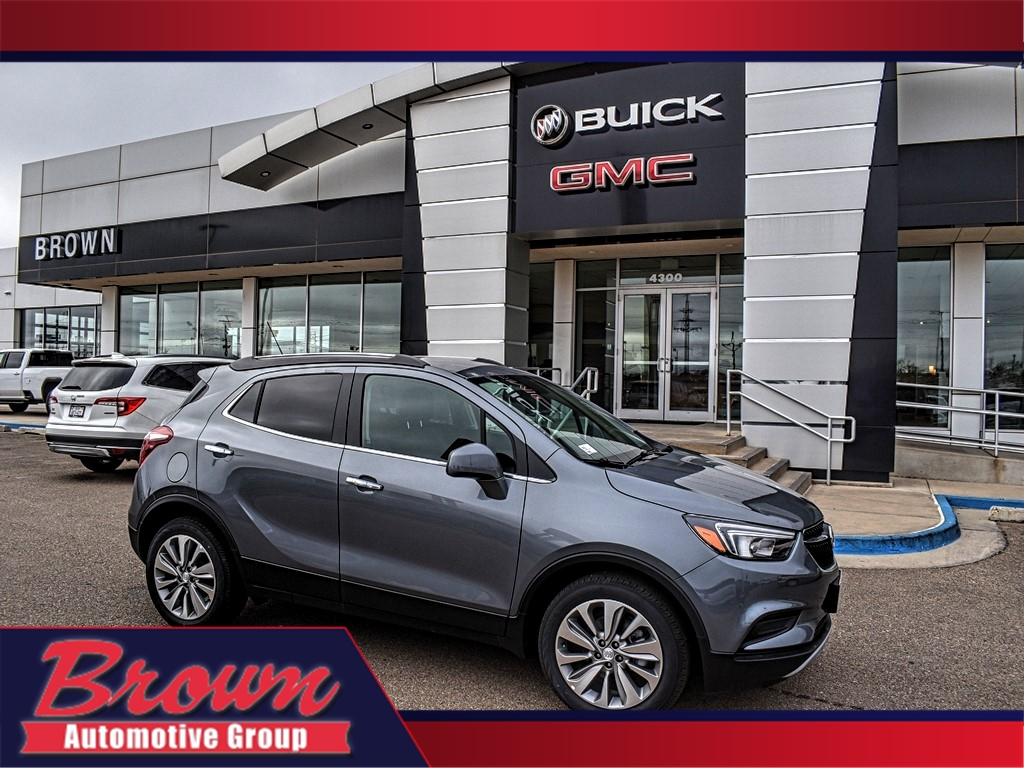New 2020 Buick Encore FWD 4DR PREFERRED