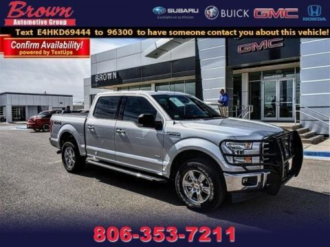 Pre-Owned 2017 Ford F-150 XLT 4WD Supercrew 5.5 Box
