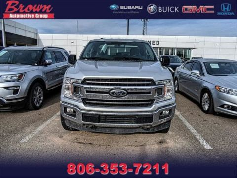 Pre-Owned 2018 Ford F-150 XLT 4WD Supercab 8 Box