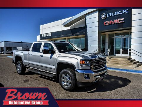 New 2019 GMC Sierra 2500HD 4WD CREW CAB 153.7 SLT