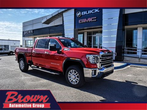 New 2020 GMC Sierra 2500HD 4WD CREW CAB 159 SLT