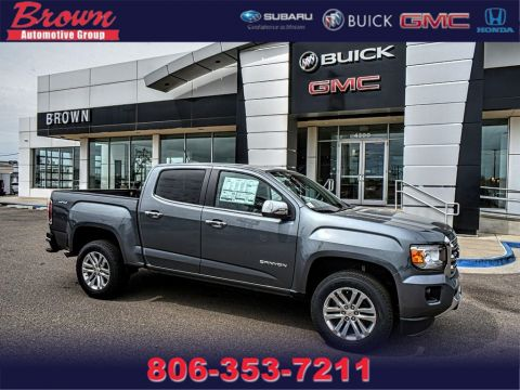 New 2019 GMC Canyon 4WD CREW CAB 128.3 SLT