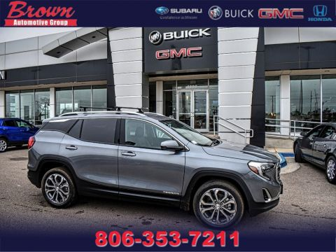 New 2019 GMC Terrain AWD 4DR SLT