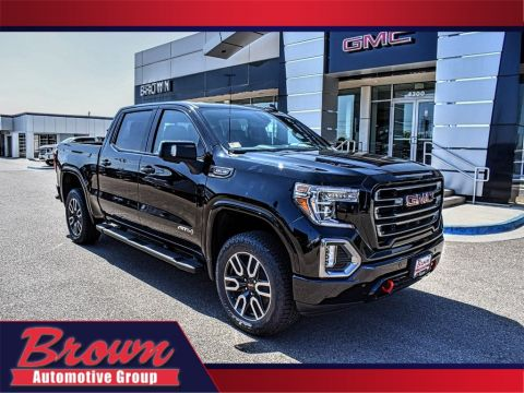 New 2020 GMC Sierra 1500 4WD CREW CAB 147 AT4